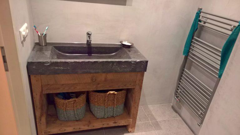 Complete Nieuwe Badkamer : Nieuwe badkamer en toilet in sliedrecht den butter & voogt